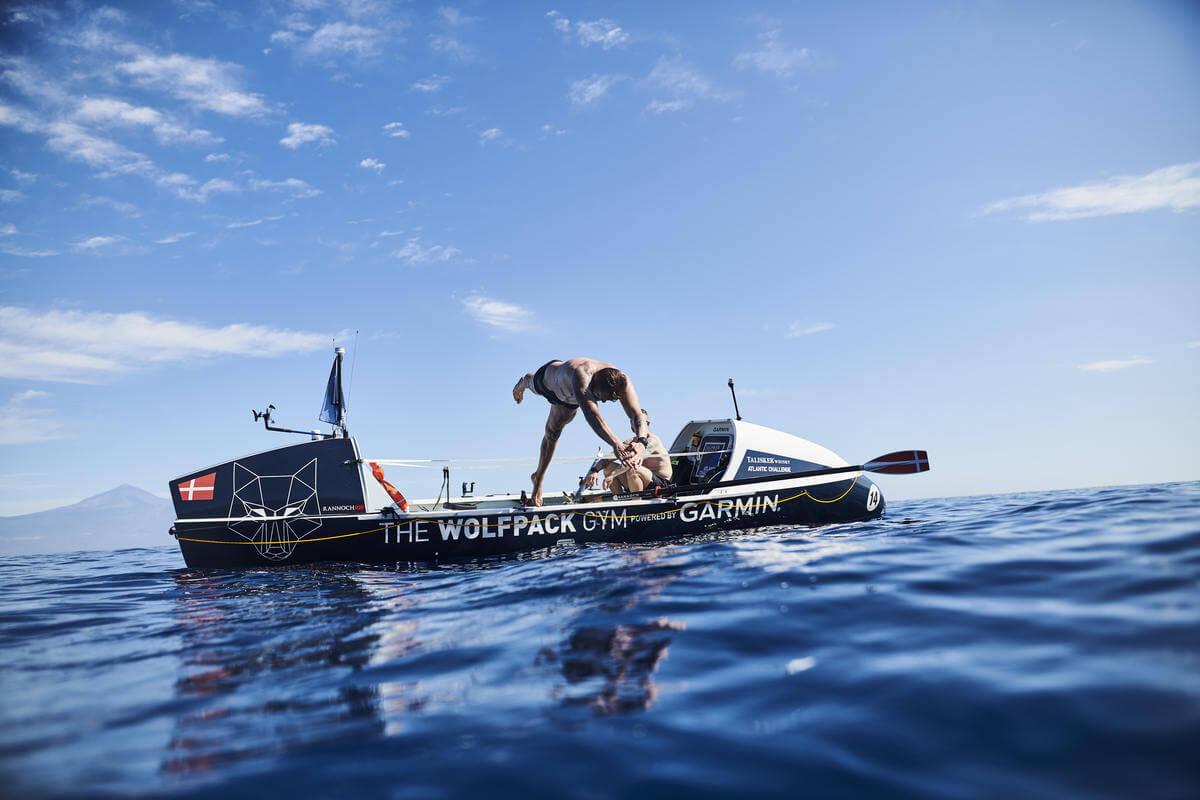 So geht Martin Stengele mit Druck bei der Atlantic Challenge um?
